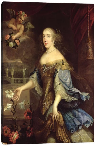 Anne-Marie-Louise d'Orleans  Canvas Art Print