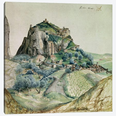 View of the Arco Valley in the Tyrol, 1495  Canvas Print #BMN2483} by Albrecht Dürer Canvas Artwork