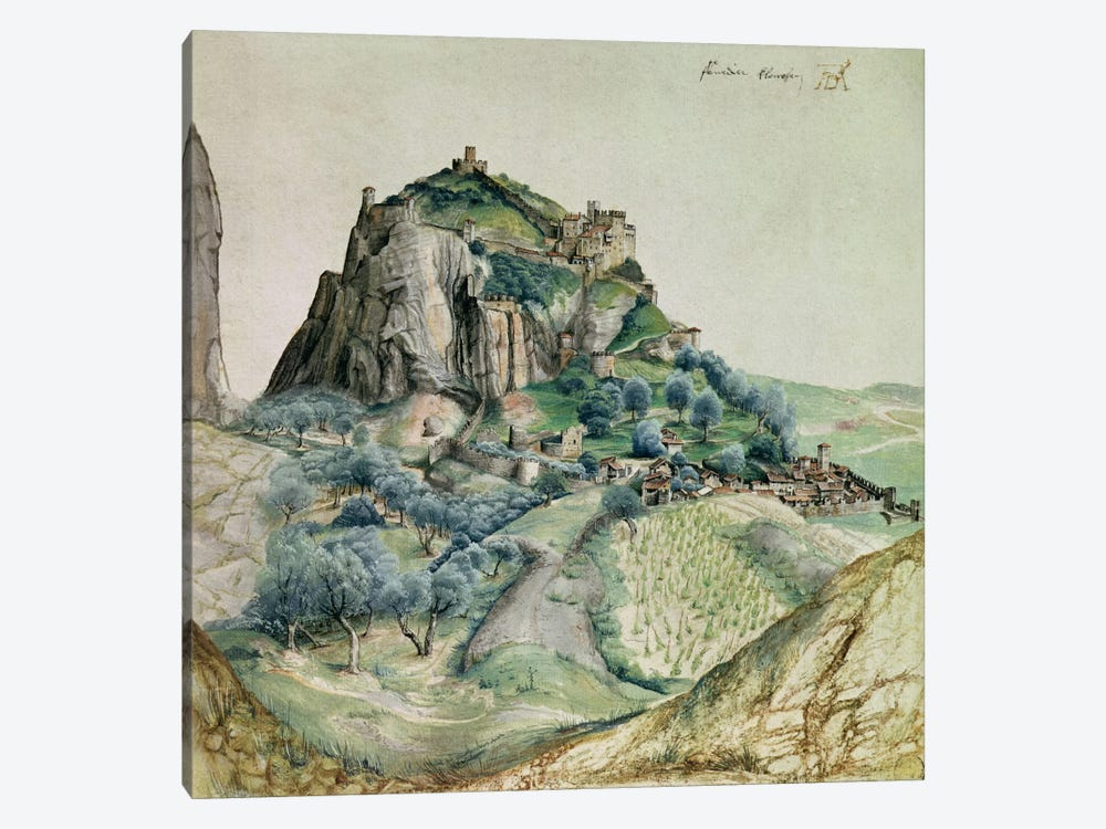 View of the Arco Valley in the Tyrol, 1495  by Albrecht Dürer 1-piece Canvas Print