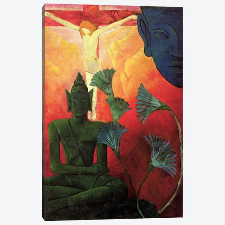 Christ And Buddha, c.1890-92 Canvas Print #BMN2487} by Paul Ranson Art Print