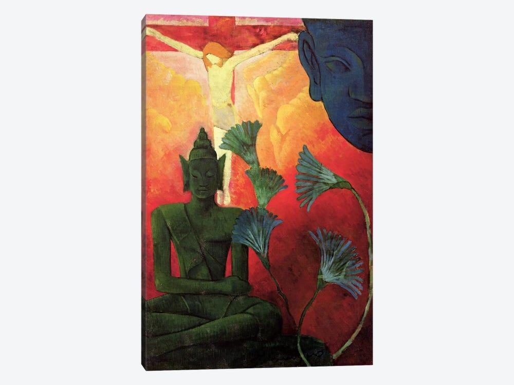 Christ And Buddha, c.1890-92 by Paul Ranson 1-piece Canvas Art Print