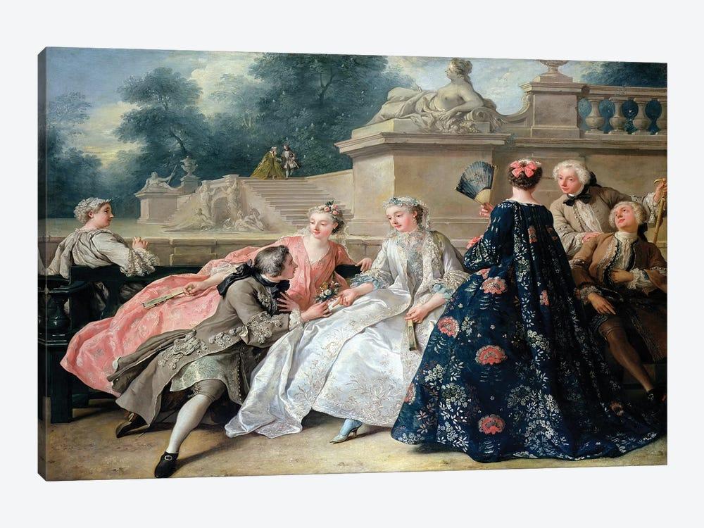Declaration of Love, 1731  by Jean Francois de Troy 1-piece Art Print