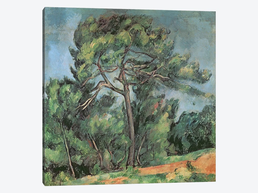 The Large Pine, c.1889  by Paul Cezanne 1-piece Canvas Wall Art