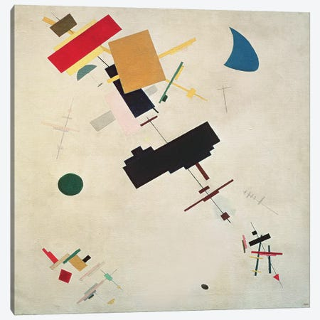 Suprematist Composition No. 56, 1936  Canvas Print #BMN2498} by Kazimir Severinovich Malevich Canvas Art Print