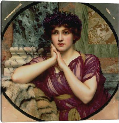 A Classical Beauty, 1901  Canvas Art Print