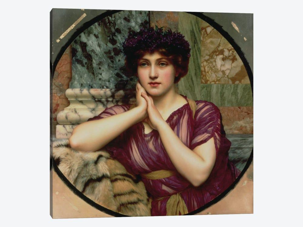 A Classical Beauty, 1901  by John William Godward 1-piece Canvas Art Print