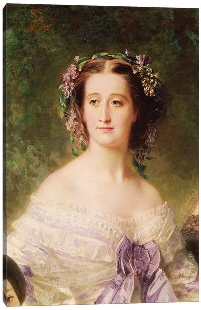 Empress Eugenie  Canvas Art Print