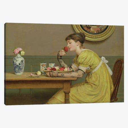 Roses  3-Piece Canvas #BMN2520} by George Dunlop Leslie Canvas Art Print
