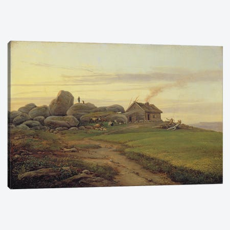 Hill Top, 1827  Canvas Print #BMN2523} by Heinrich Stuhlmann Canvas Art Print