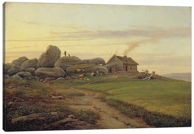 Hill Top, 1827  Canvas Art Print