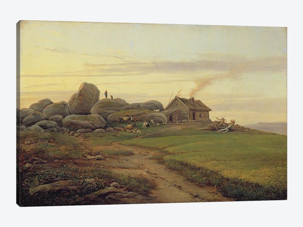 Hill Top, 1827  by Heinrich Stuhlmann 1-piece Canvas Artwork