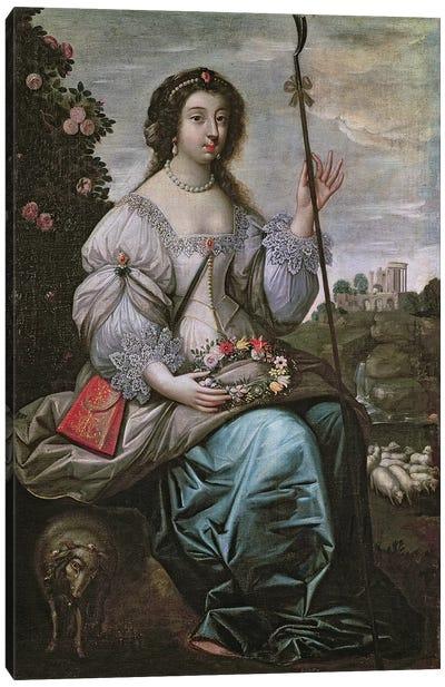 Julie d'Angennes  Canvas Art Print