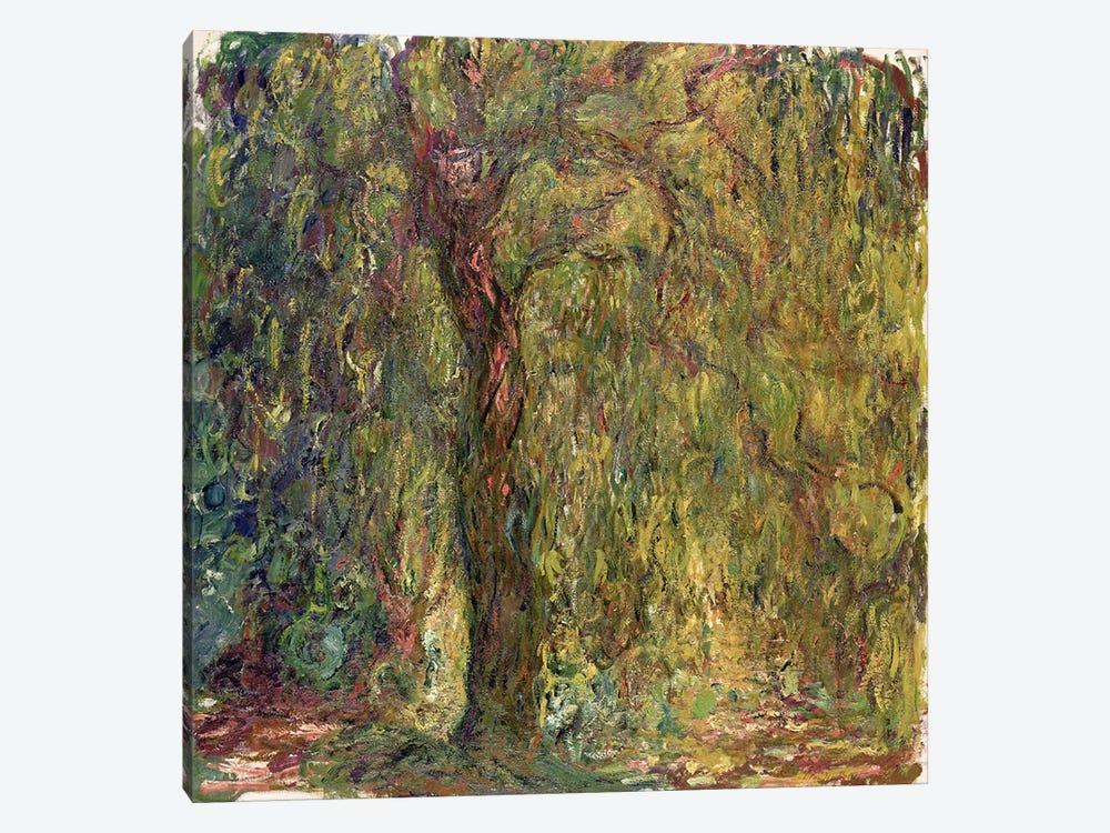 Weeping Willow, 1918-19  by Claude Monet 1-piece Canvas Art