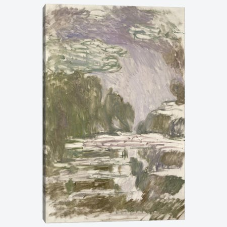 Study for the Waterlilies, 1907  Canvas Print #BMN2526} by Claude Monet Canvas Art