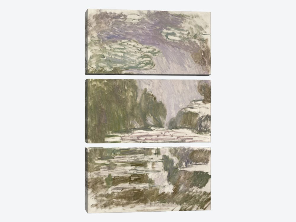 Study for the Waterlilies, 1907  by Claude Monet 3-piece Canvas Art Print