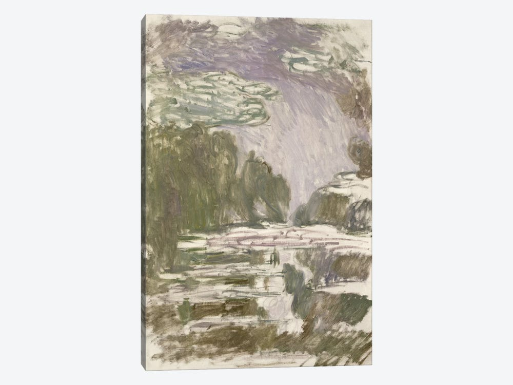 Study for the Waterlilies, 1907  by Claude Monet 1-piece Canvas Art Print