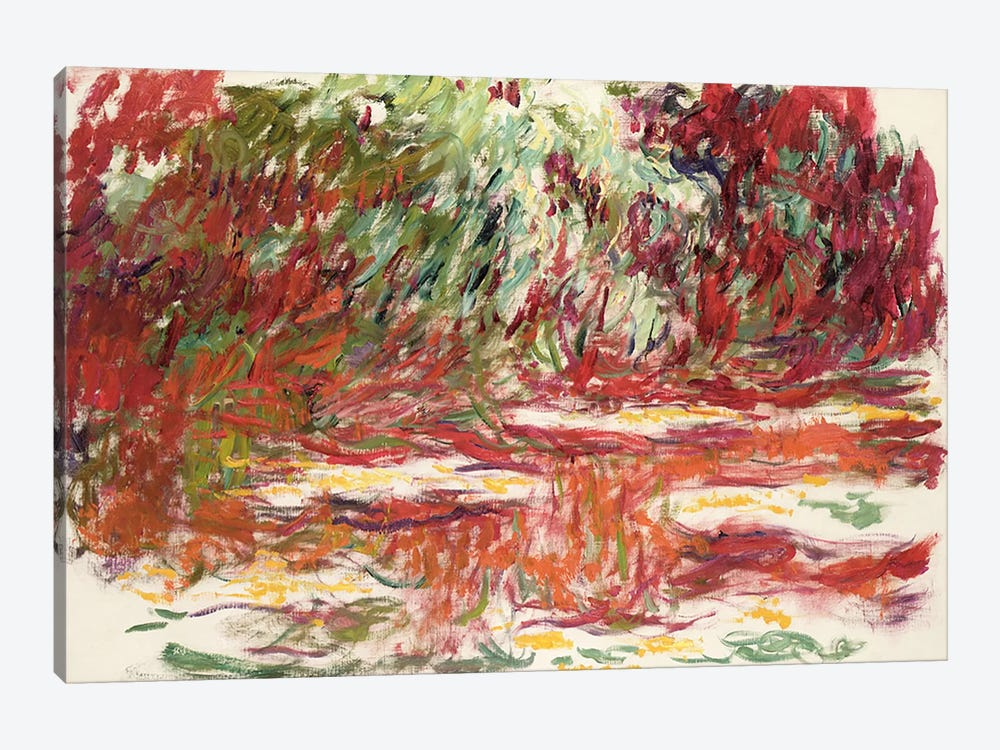 Waterlily Pond, 1918-19  by Claude Monet 1-piece Canvas Wall Art