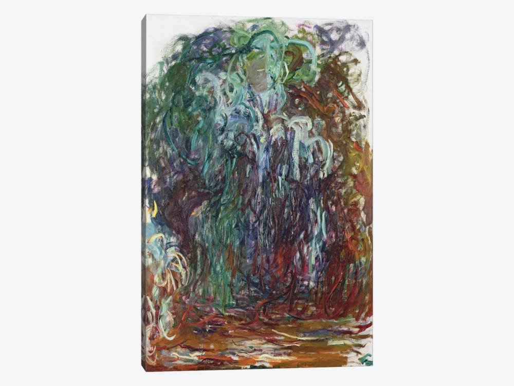 Weeping Willow, 1921-22  by Claude Monet 1-piece Canvas Artwork