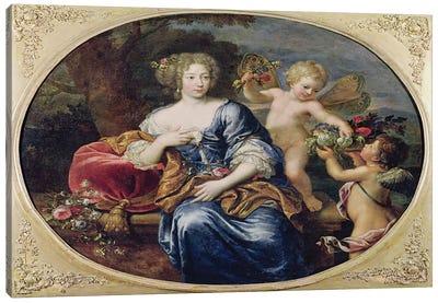 Portrait presumed to be Francoise-Athenais de Rochechouart de Mortemart  Canvas Art Print