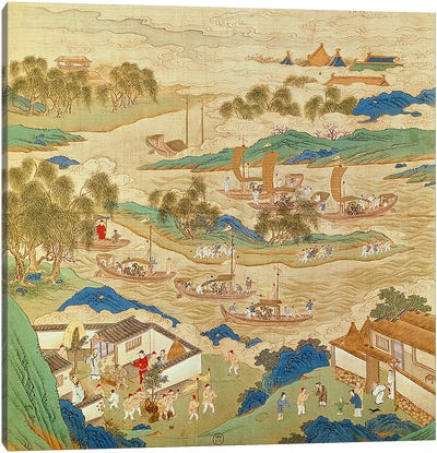 Emperor Hui Tsung  Canvas Art Print