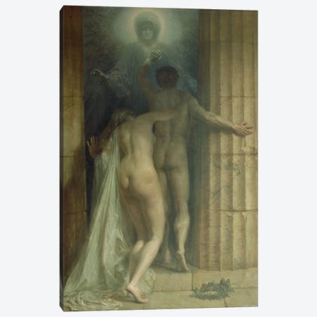 Till Death Us Do Part  Canvas Print #BMN2540} by Sigismund Christian Hubert Goetze Canvas Print