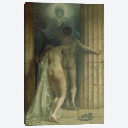 Till Death Us Do Part  Canvas Print #BMN2540} by Sigismund Christian Hubert Goetze Canvas Print