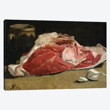 Still Life, the Joint of Meat, 1864  Canvas Print #BMN2547} by Claude Monet Canvas Wall Art