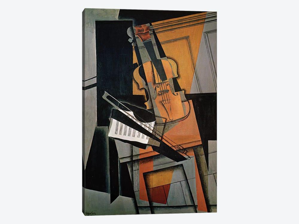 The Violin, 1916  by Juan Gris 1-piece Canvas Print