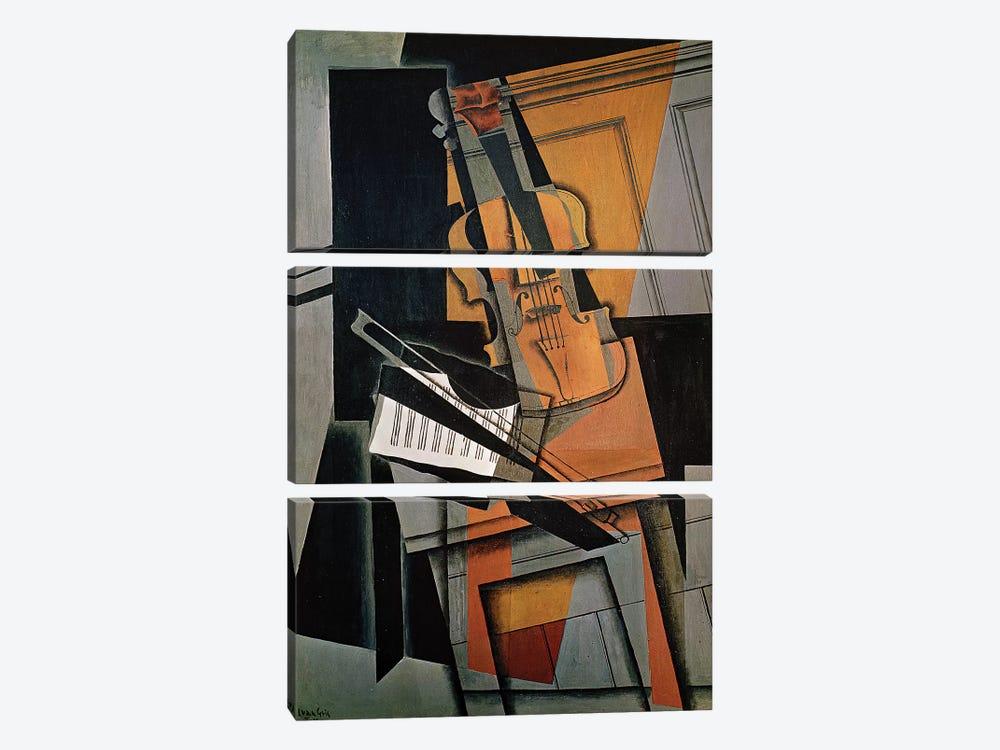 The Violin, 1916  by Juan Gris 3-piece Art Print