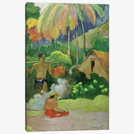 Landscape in Tahiti  Canvas Print #BMN2555} by Paul Gauguin Canvas Print
