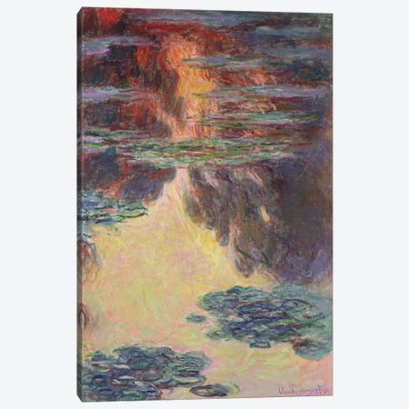 Waterlilies, 1907   Canvas Print #BMN2561} by Claude Monet Art Print