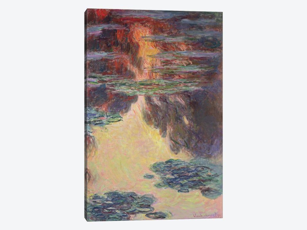 Waterlilies, 1907   by Claude Monet 1-piece Canvas Art