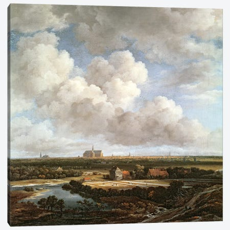 Bleaching Ground in the Countryside near Haarlem, 1670  Canvas Print #BMN2569} by Jacob Isaacksz van Ruisdael Art Print