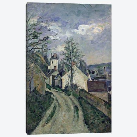 The House of Doctor Gachet  Canvas Print #BMN2573} by Paul Cezanne Canvas Art