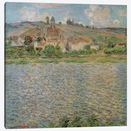 Vetheuil, 1901  Canvas Print #BMN2579} by Claude Monet Canvas Art