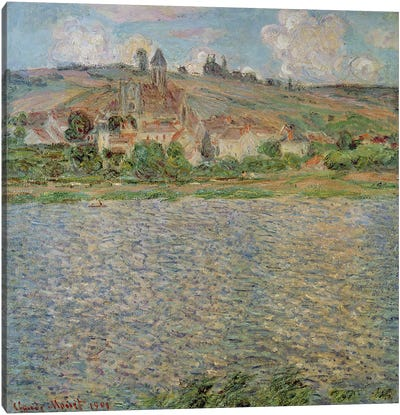 Vetheuil, 1901 Canvas Art Print