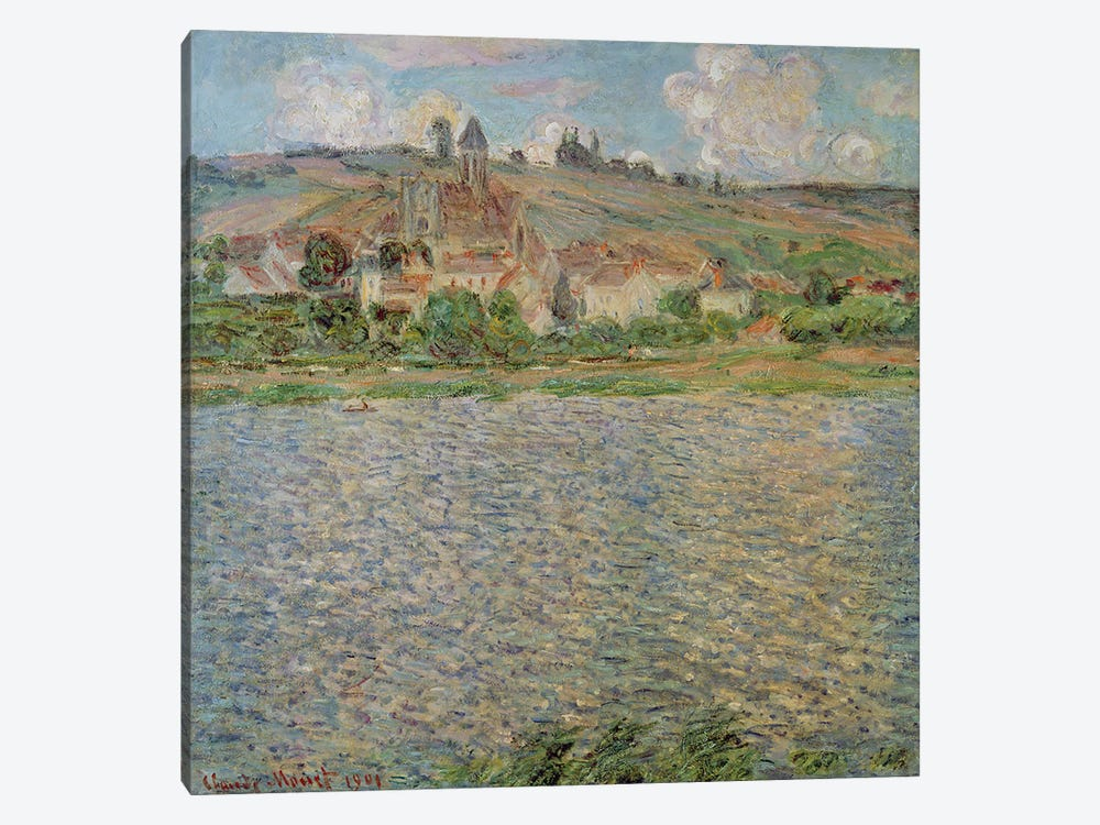 Vetheuil, 1901 by Claude Monet 1-piece Canvas Art Print