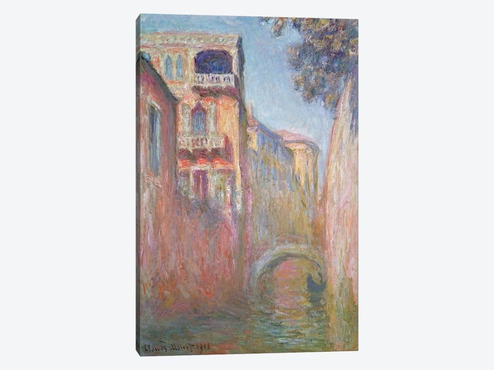 Venice - Rio de Santa Salute, 1908  by Claude Monet 1-piece Canvas Print