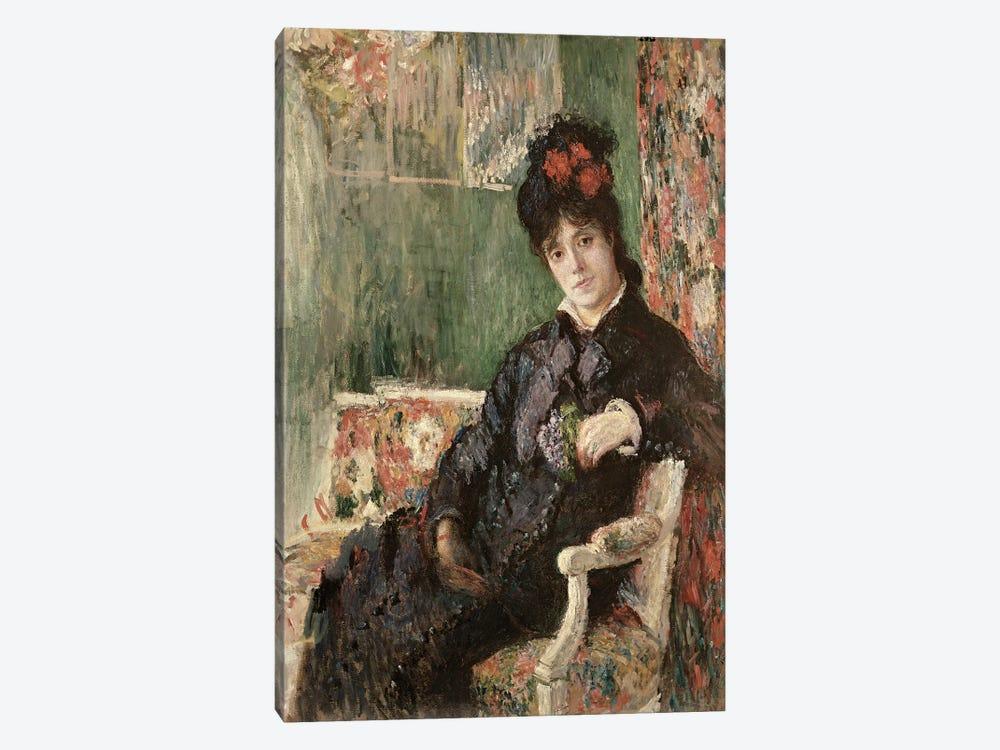 Portrait de Madame Camille Monet, c.1875-78  by Claude Monet 1-piece Canvas Art