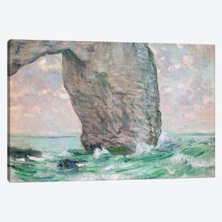 La Manneporte a Etretat, c.1883-85  Canvas Print #BMN2582} by Claude Monet Art Print