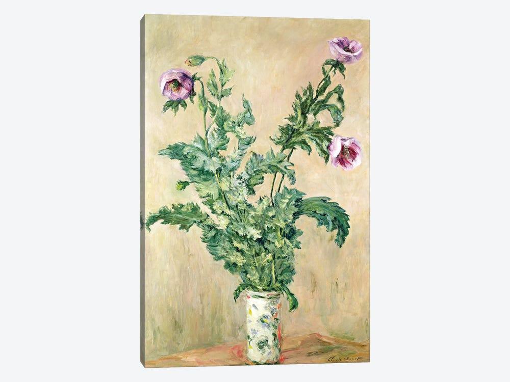 Poppies, c.1882  by Claude Monet 1-piece Canvas Art Print