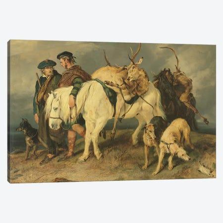 The Deerstalkers' Return, 1827  Canvas Print #BMN2588} by Sir Edwin Landseer Canvas Print