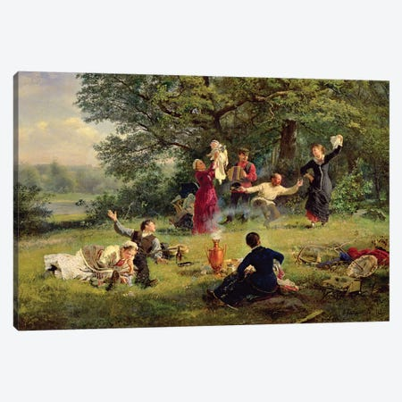 Sunday, 1884  Canvas Print #BMN2594} by Alexei Korsuchin Canvas Print