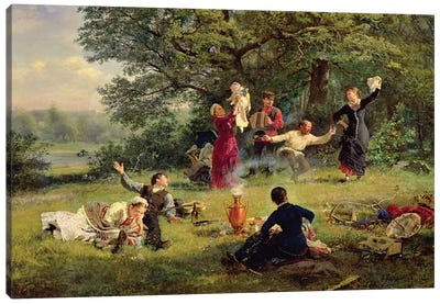 Sunday, 1884  Canvas Art Print