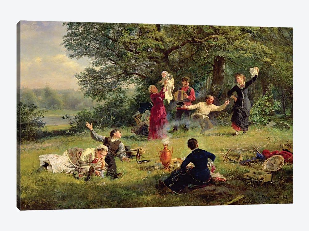 Sunday, 1884  by Alexei Korsuchin 1-piece Canvas Art