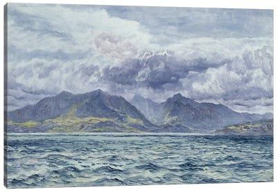 Isle of Arran, 7th August 1883  Canvas Art Print