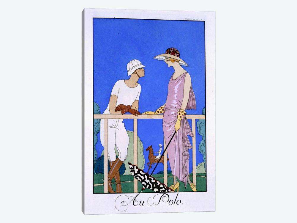 At Polo, 1920-29 (pochoir print) by George Barbier 1-piece Art Print