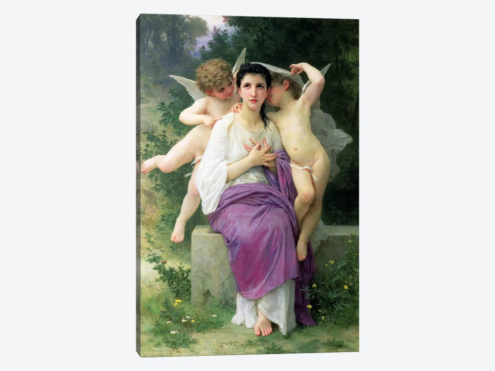 The Heart's Awakening, 1892  by William-Adolphe Bouguereau 1-piece Art Print