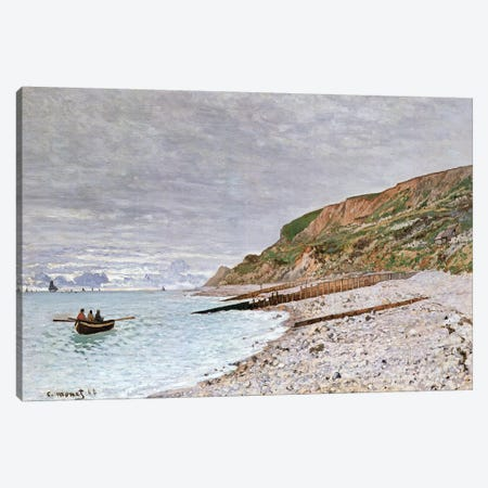La Pointe de la Heve, 1864  Canvas Print #BMN2608} by Claude Monet Canvas Art