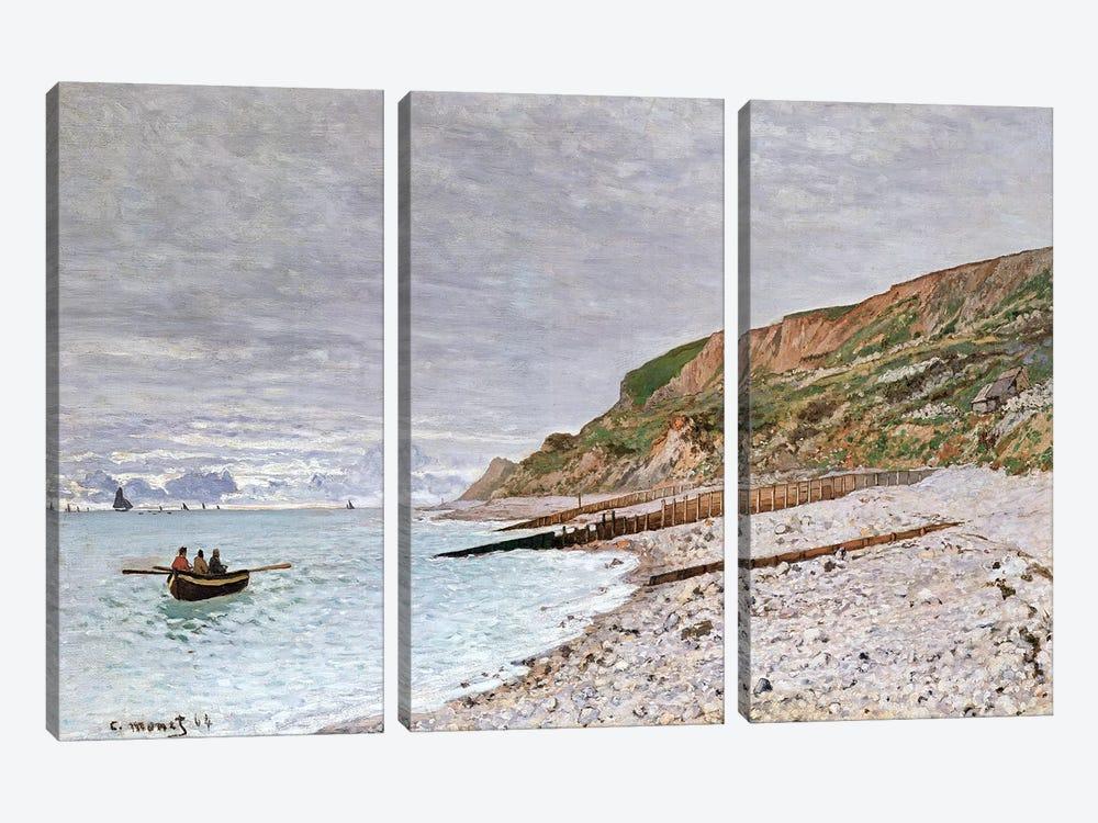La Pointe de la Heve, 1864  by Claude Monet 3-piece Canvas Print